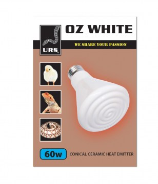 Ceramic Oz White (Box of 50) 60w