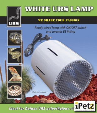 URS Vivarium Lamp - White