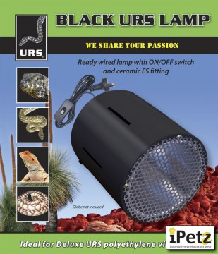 URS Vivarium Lamp - Black
