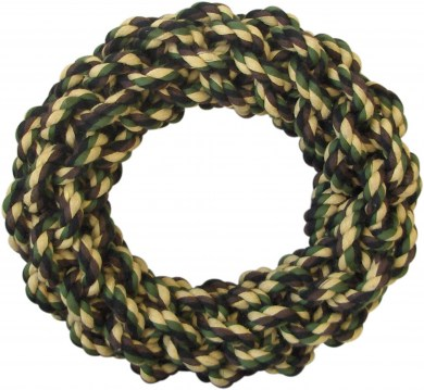 Camo Rope Knot Ring 7inch (18cm)